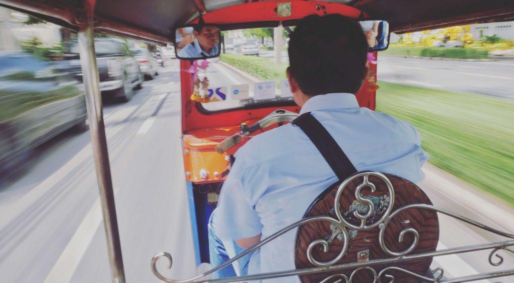 Fortbewegung in Thailand mit dem Tuk-Tuk 1