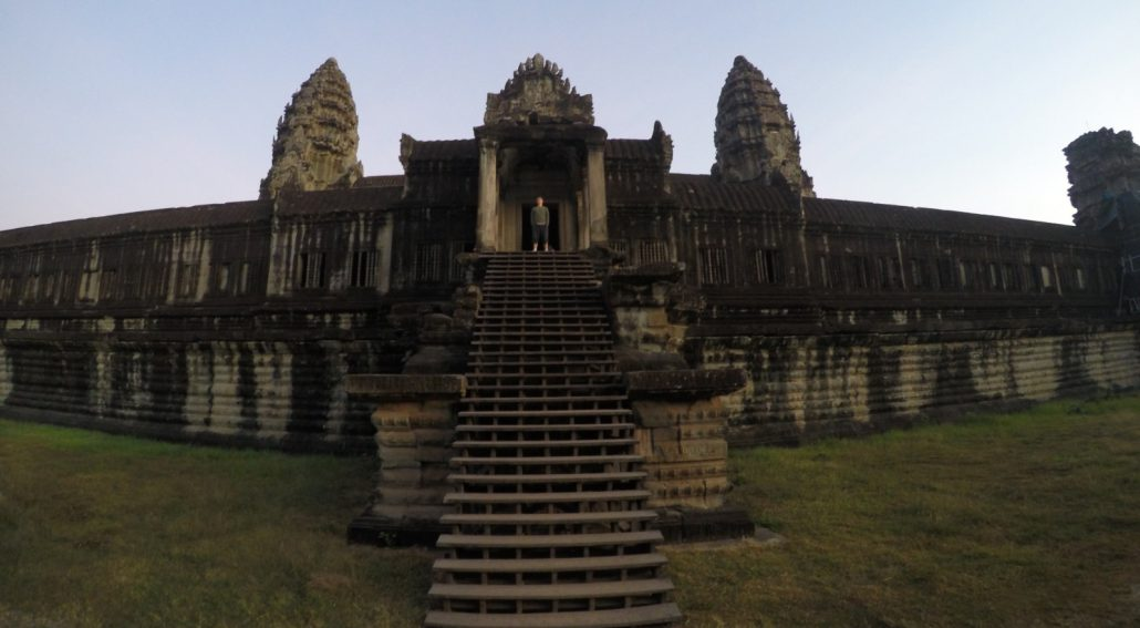 Angkor Wat Kambodscha Backpackertrail 1