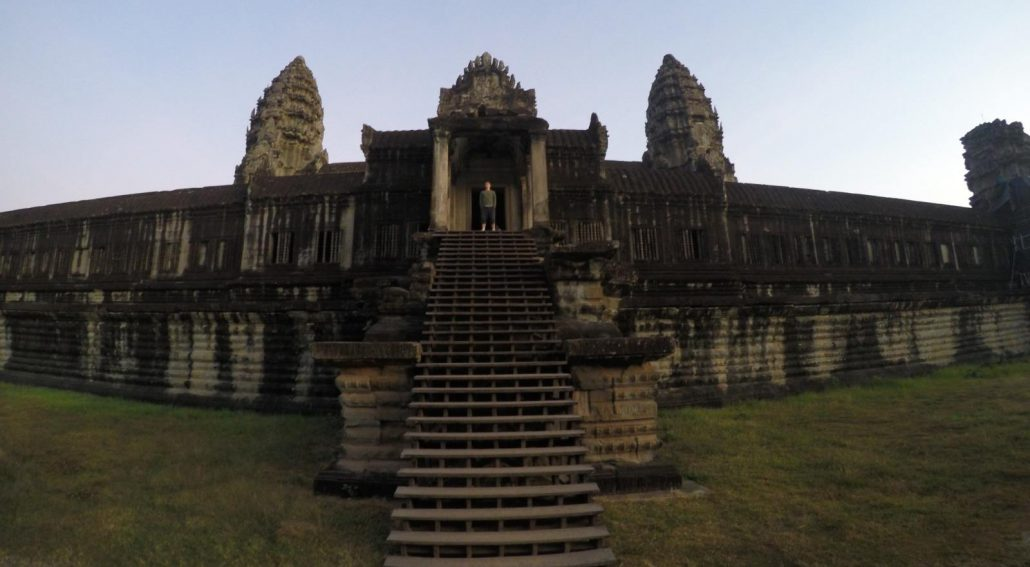 Angkor Wat Kambodscha Backpackertrail 1