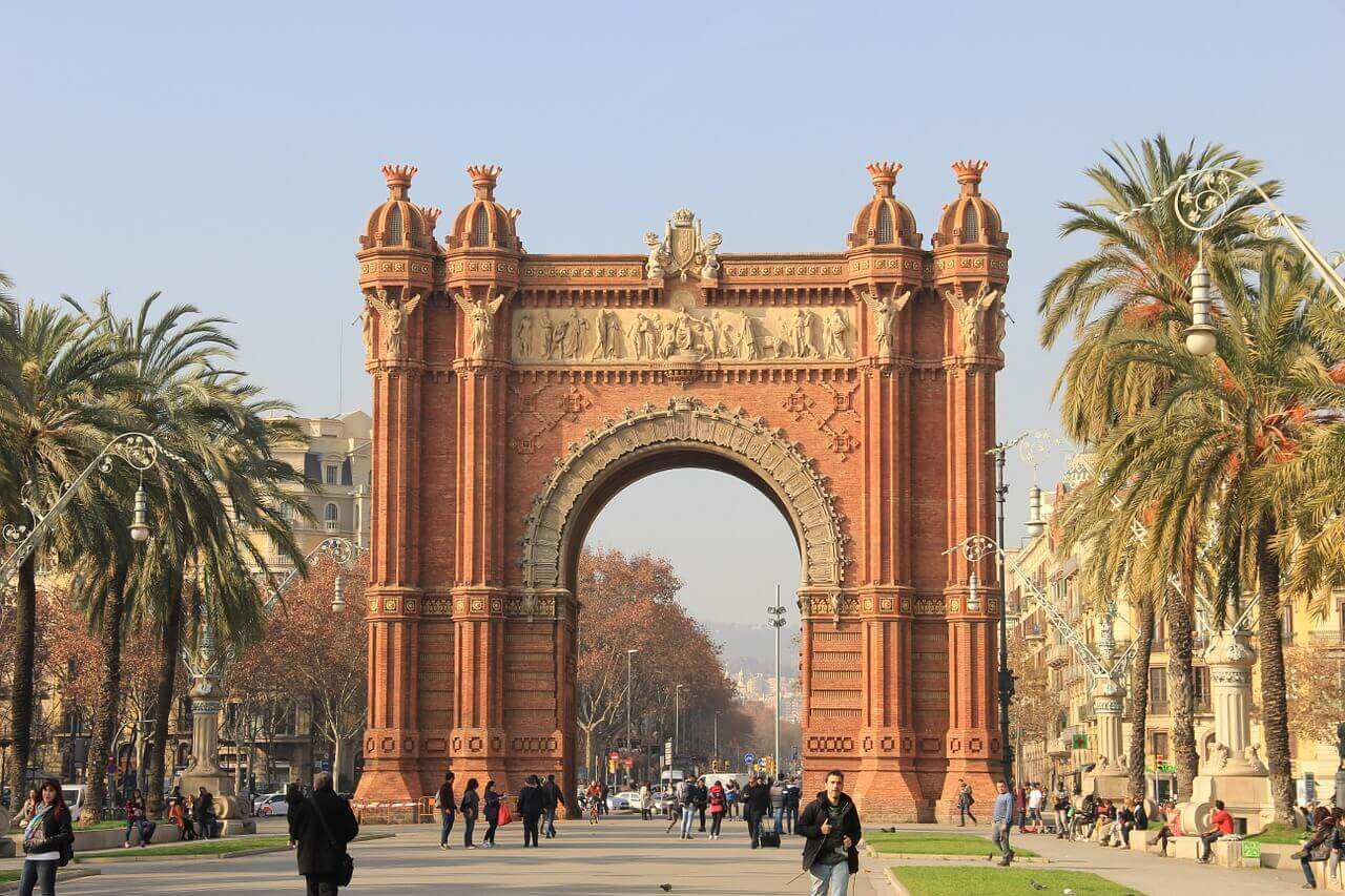 Barcelona_Triumphbogen