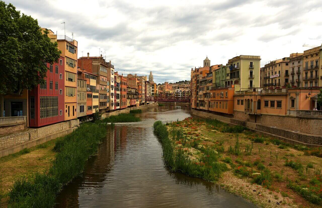 Girona_Fluss