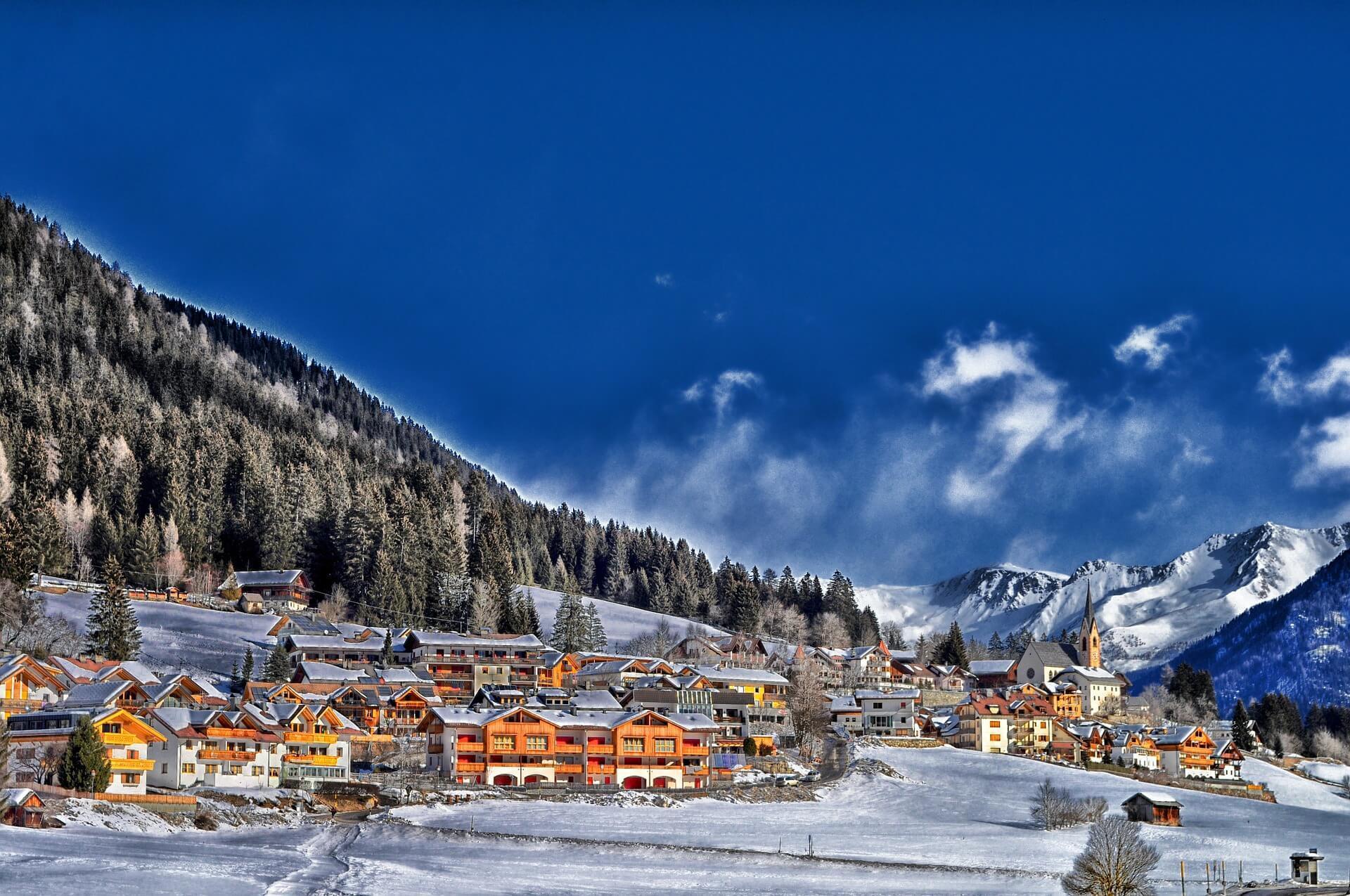 Frankreich Winter