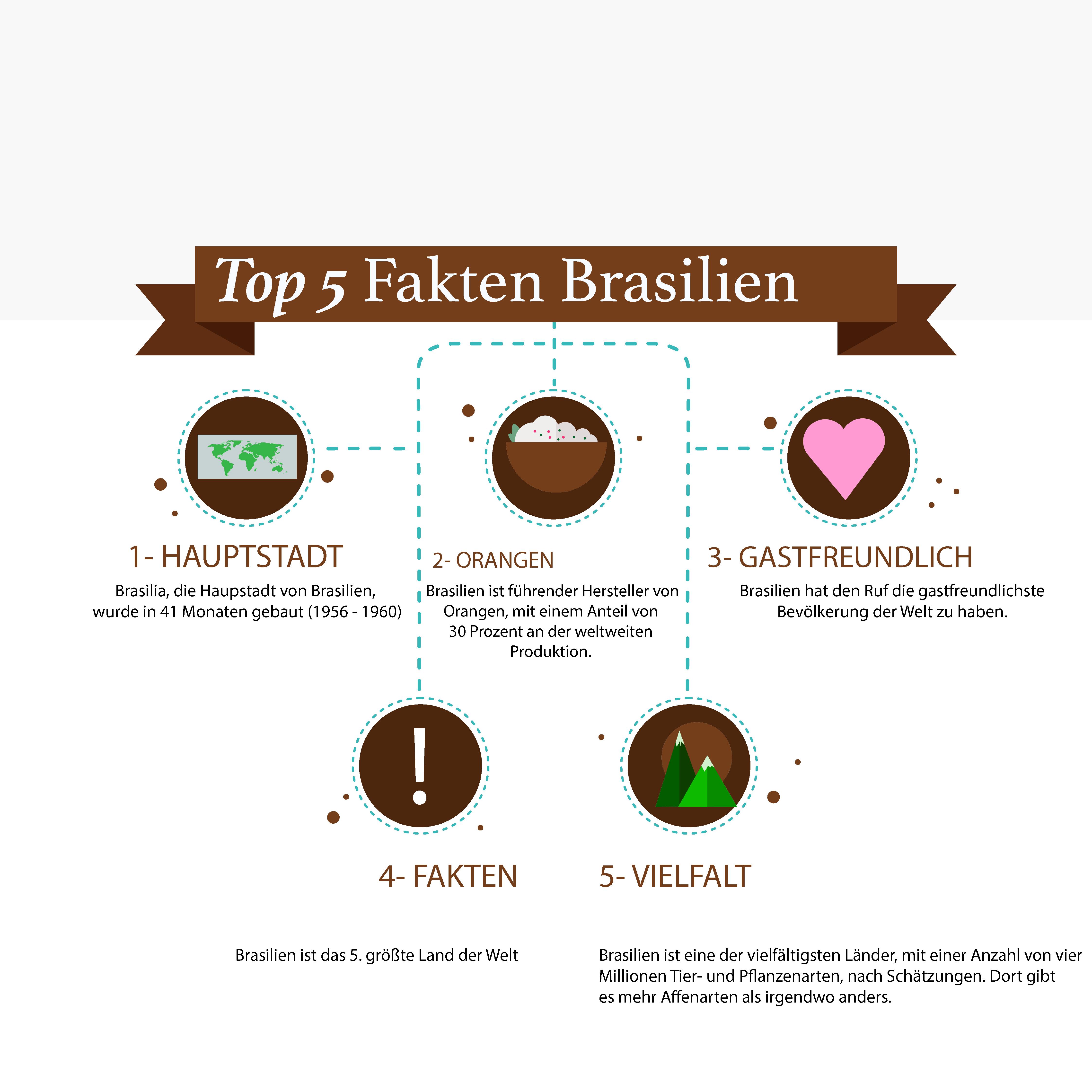 Top 5 Fakten Brasilien