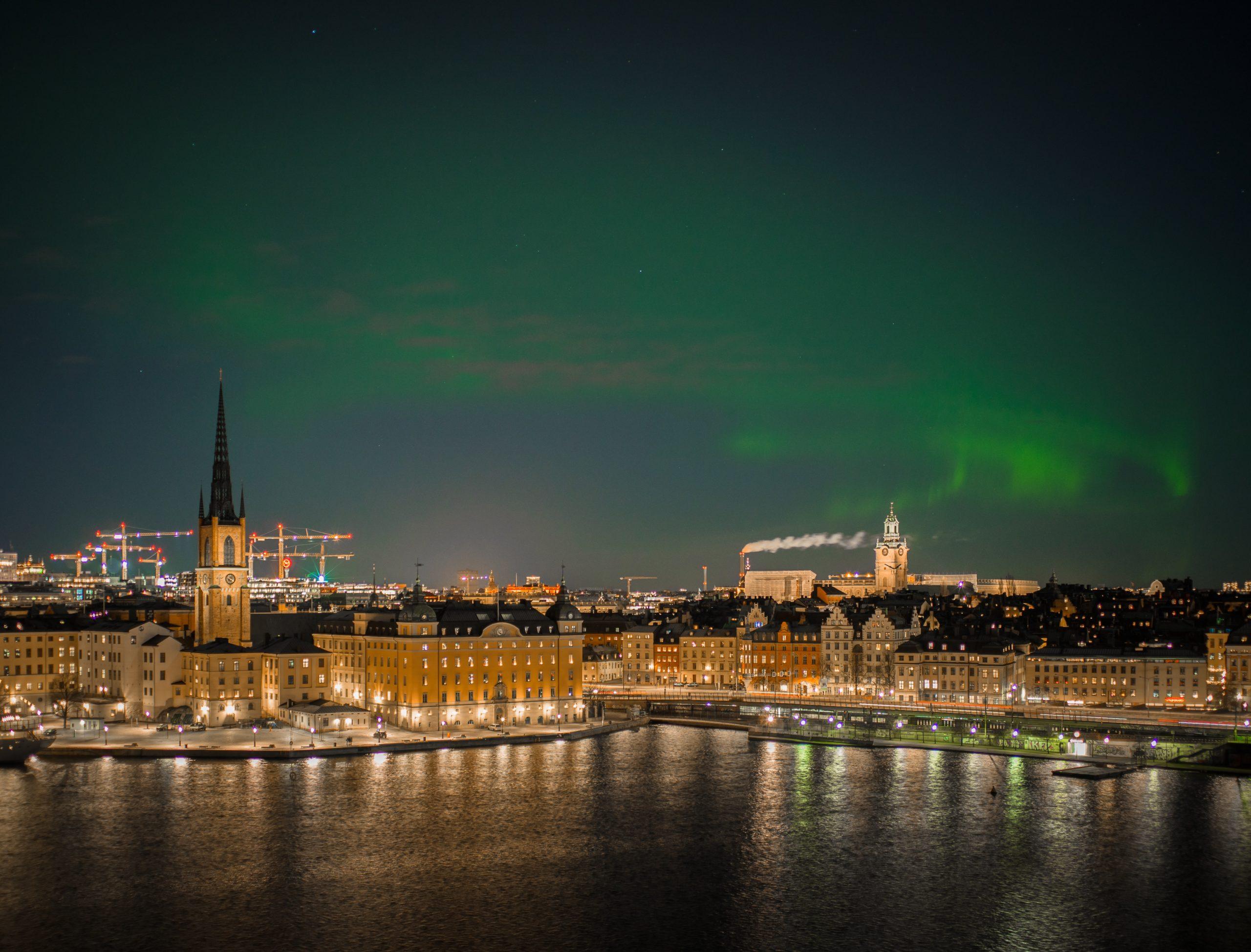 stockholm polarlicht