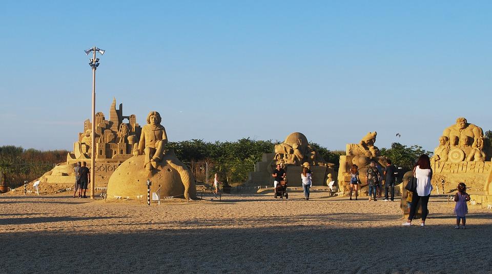 Burgas Sand Skulpturen