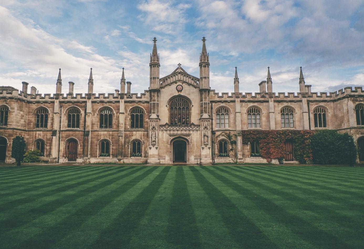 Gebäude Unversität Cambridge