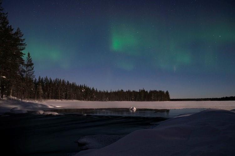 Rovaniemi Polarlicht