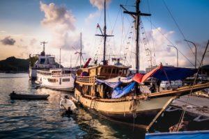 Schiffe Gili Inseln