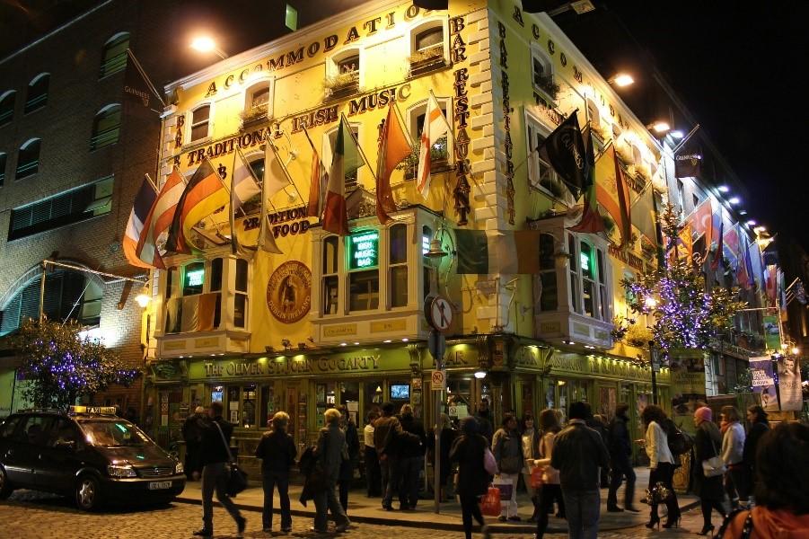 St Patricks Day Dublin Pub