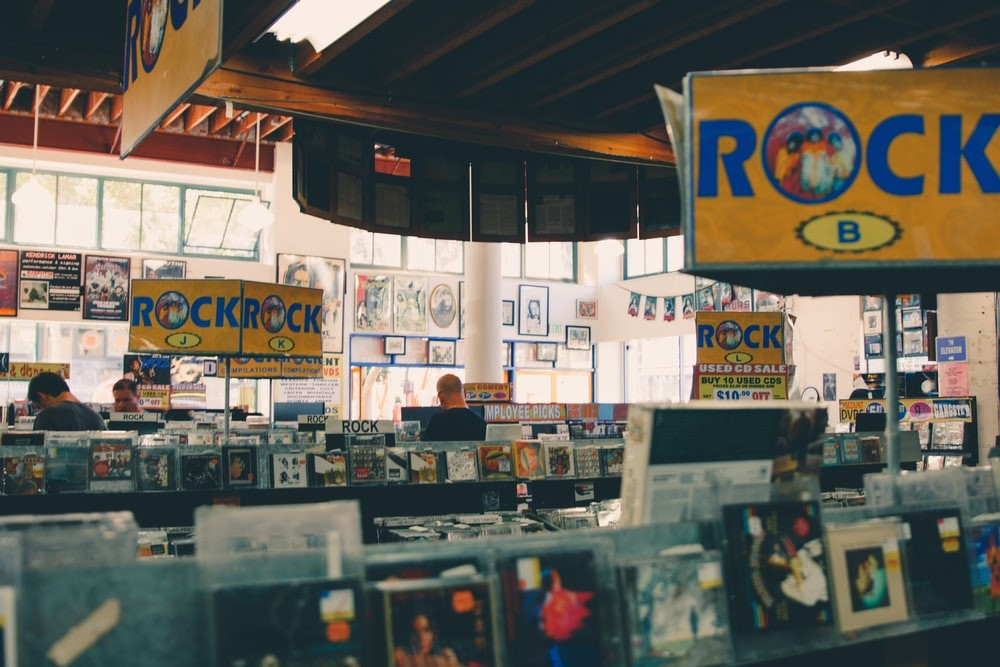Bay Area Record Store