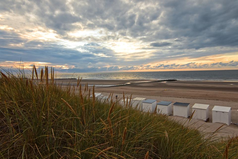 Belgien Ostende Strand