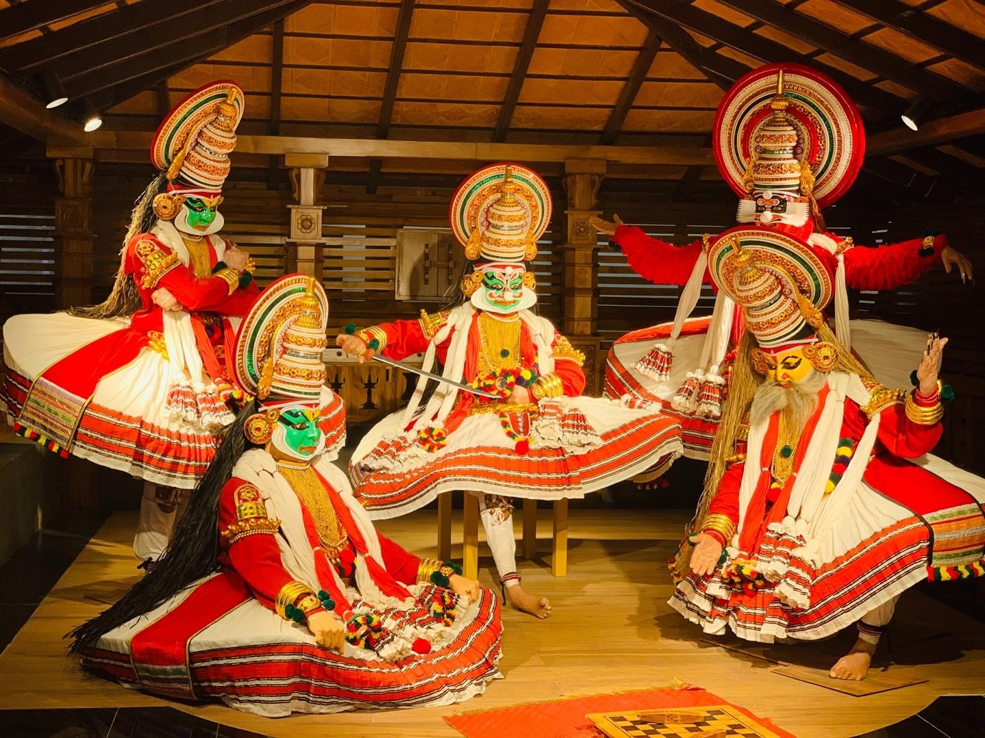 Indien Kerala Kultur