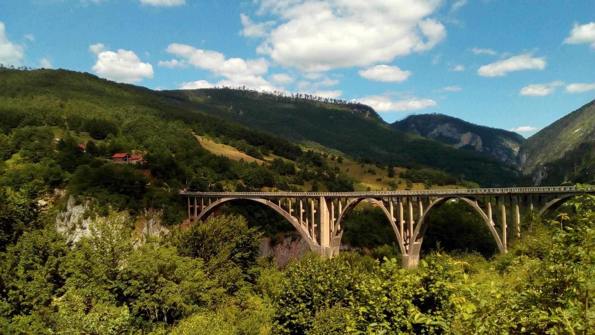 Montenegro Tara Brücke