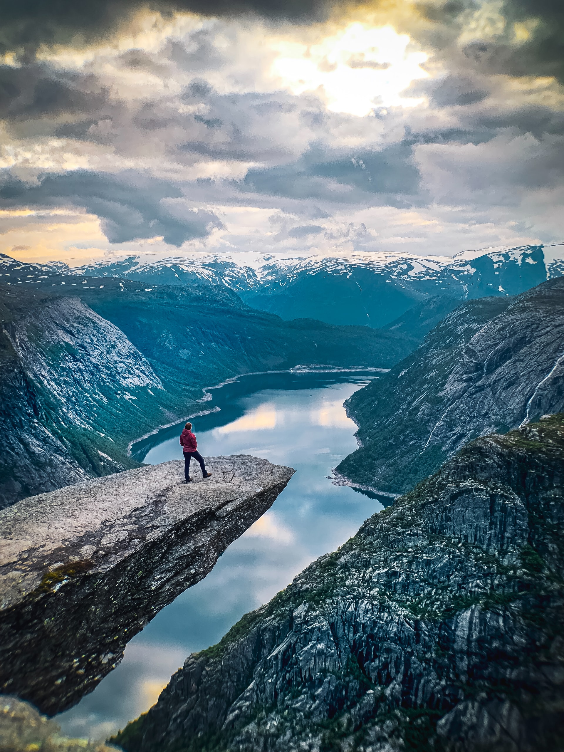 Norwegen Trolltunga