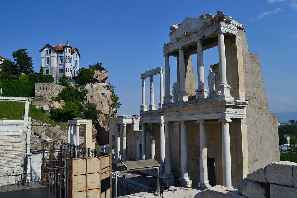 Plovdiv Römische Ruinen
