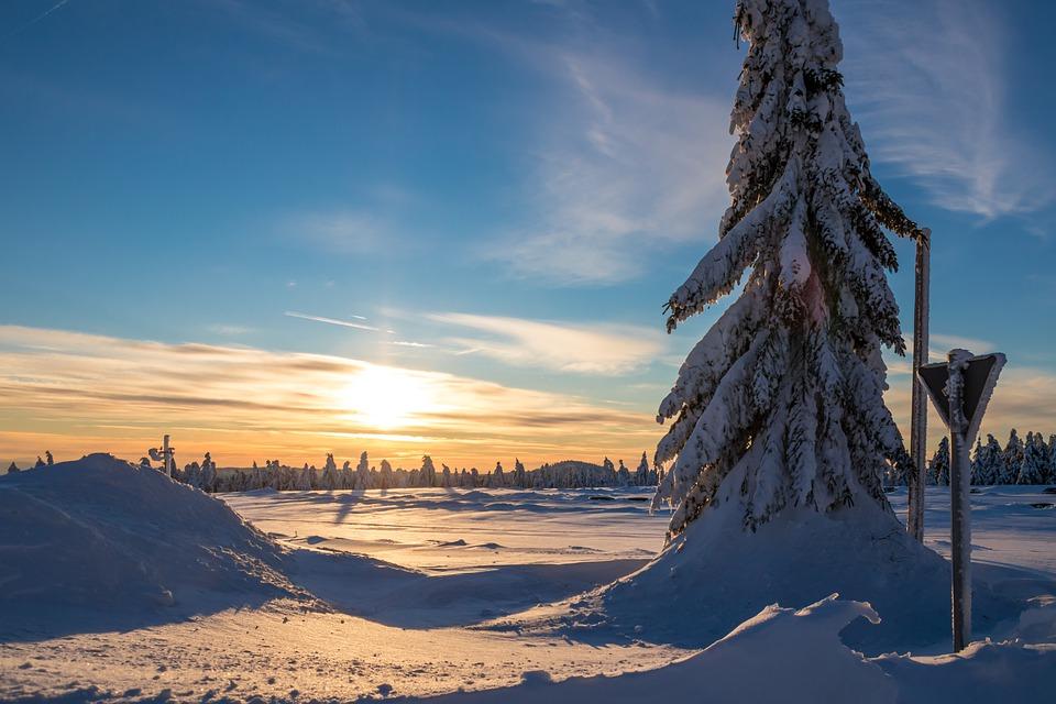 Tschechien Winter Erzgebirge