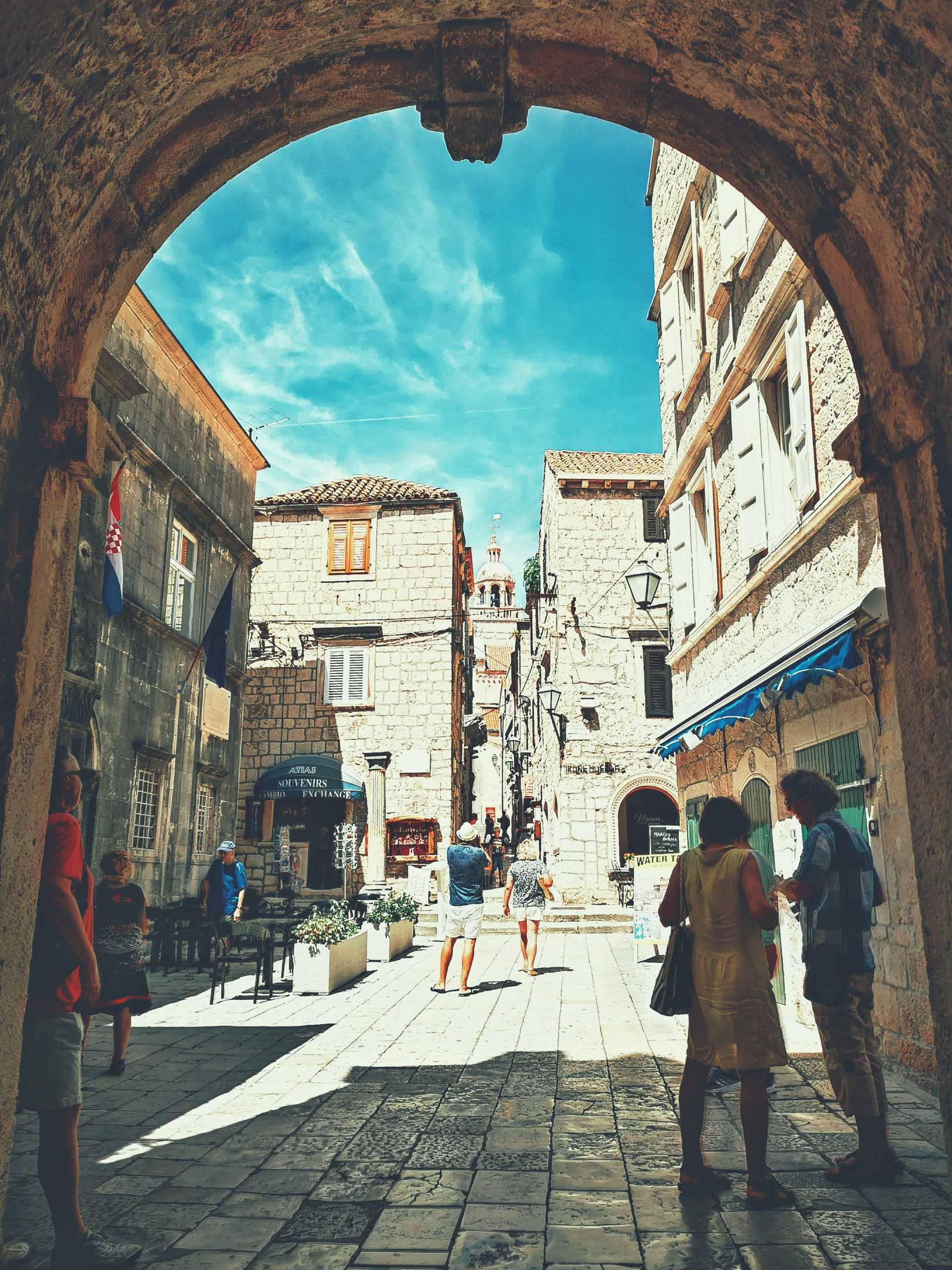 Kroatien Korcula Altstadt