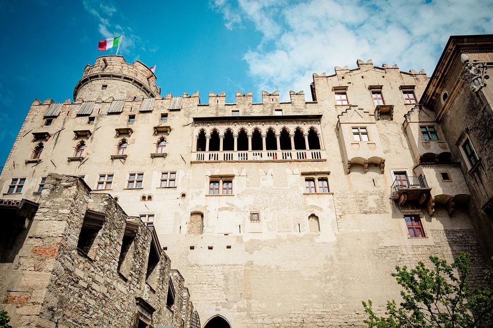 Trient Castello del Buonconsiglio