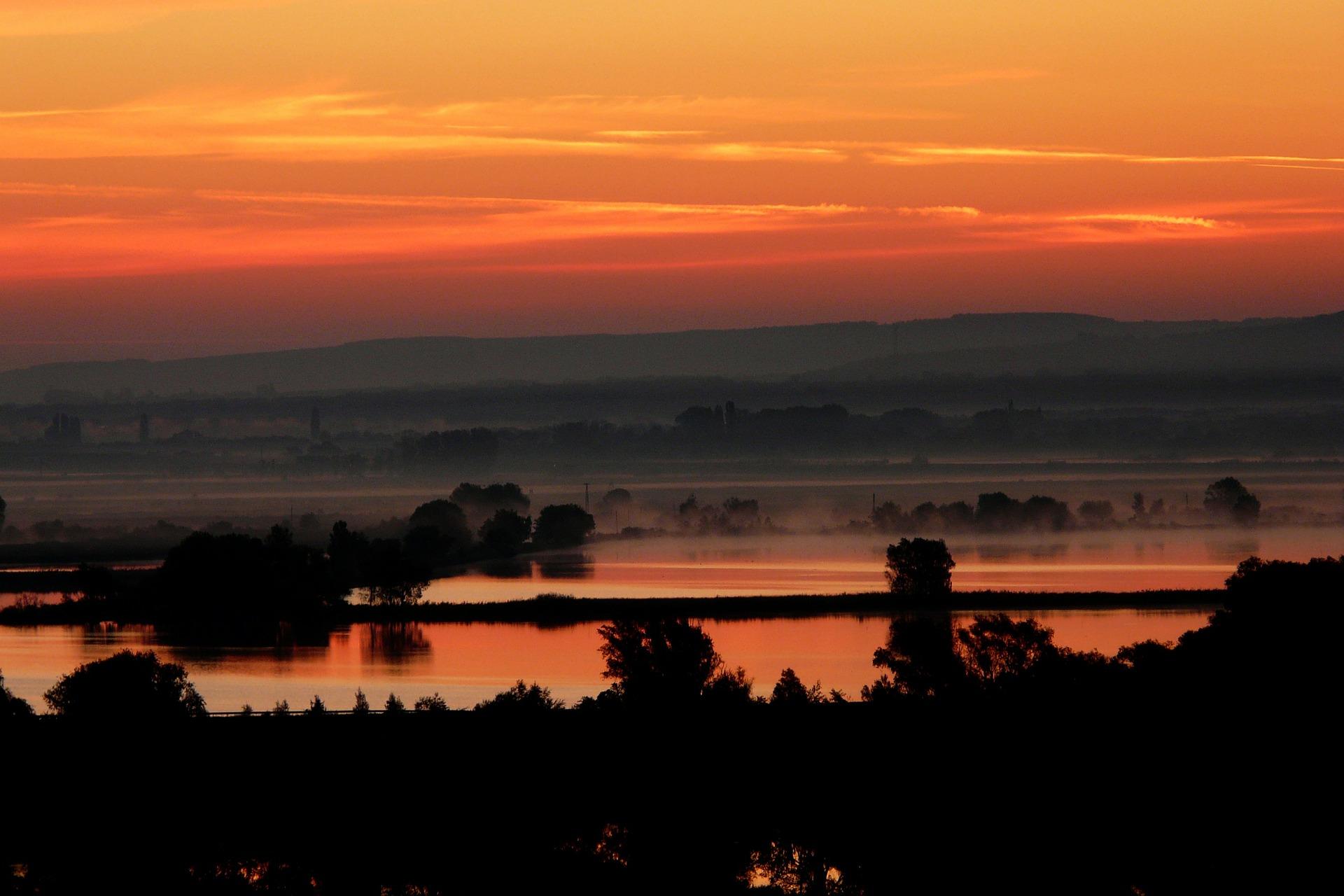Camping Kroatien Sonnenuntergang