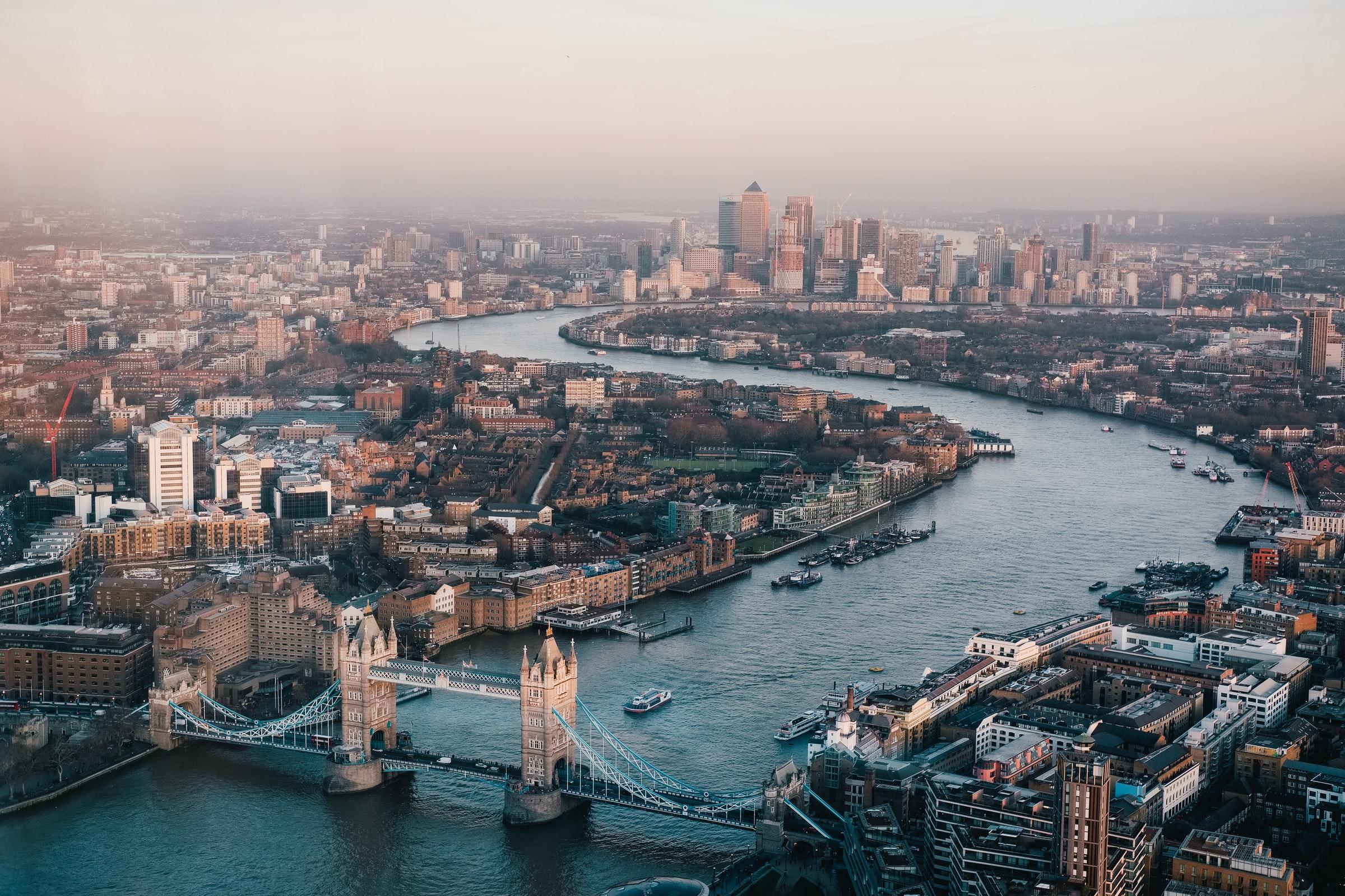 England Flüsse London Themse