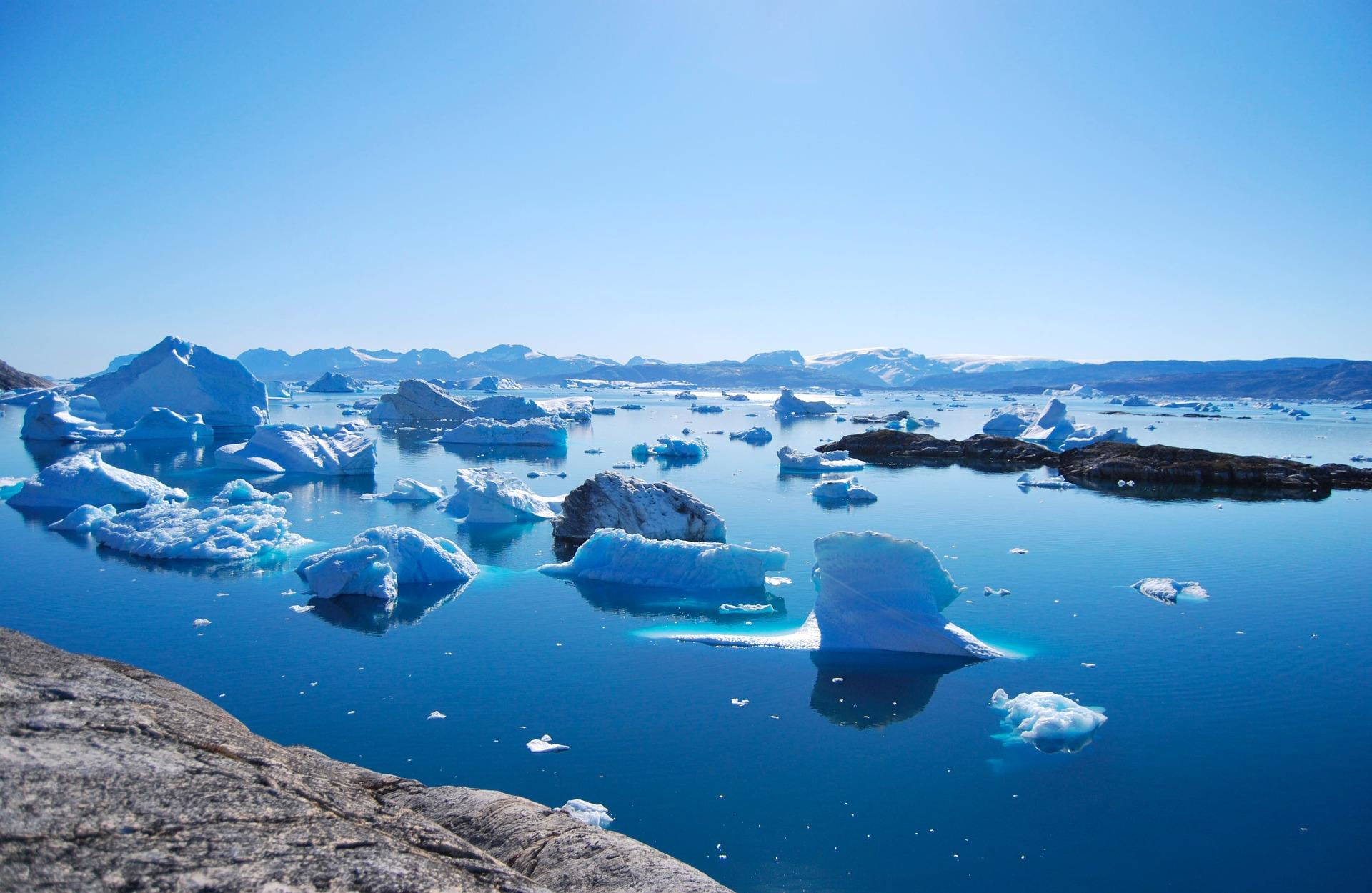Grönland Urlaub Meer und Eis