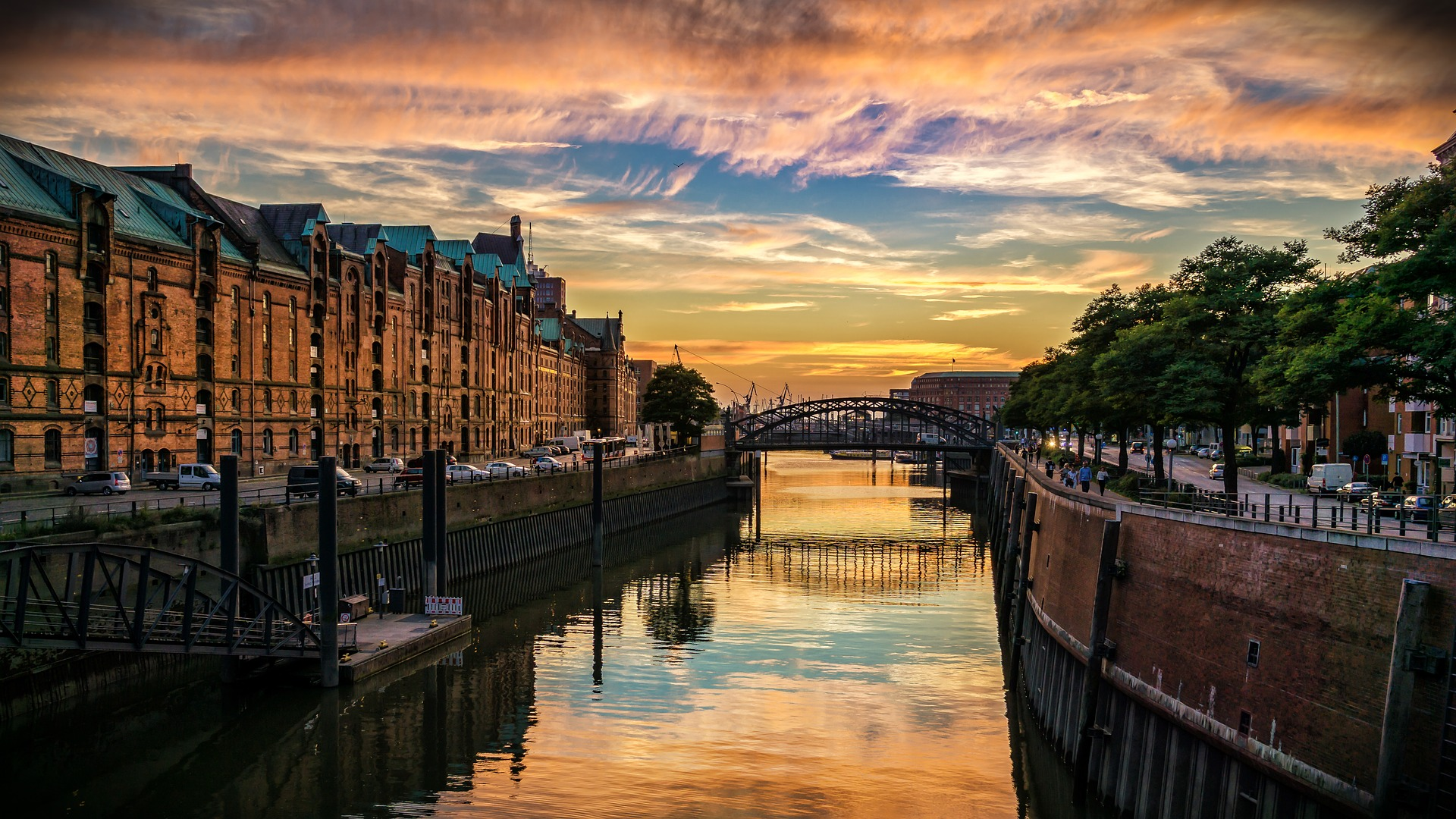 Hansestadt Hamburg Fluss