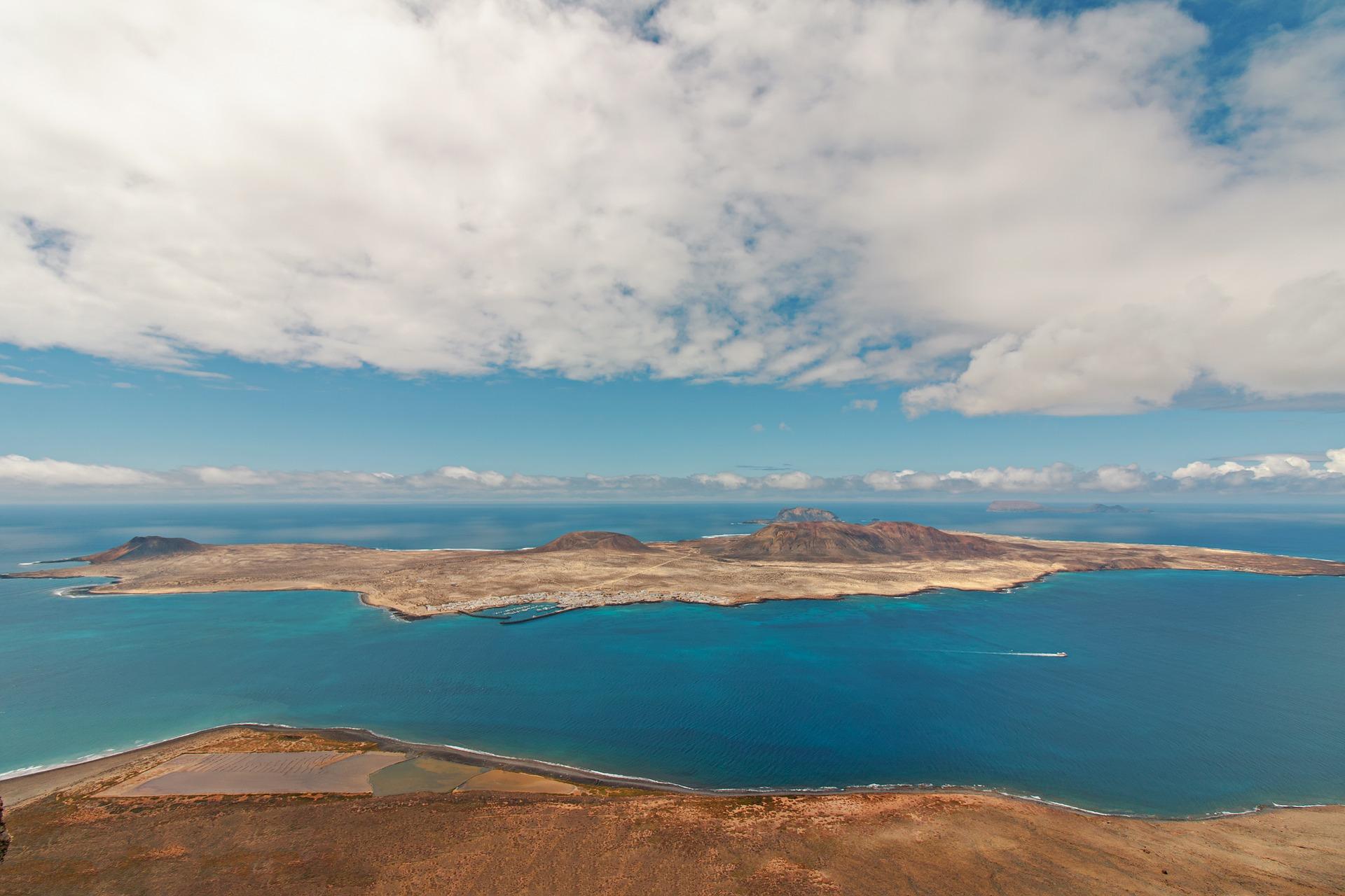 La Graciosa Insel Meer