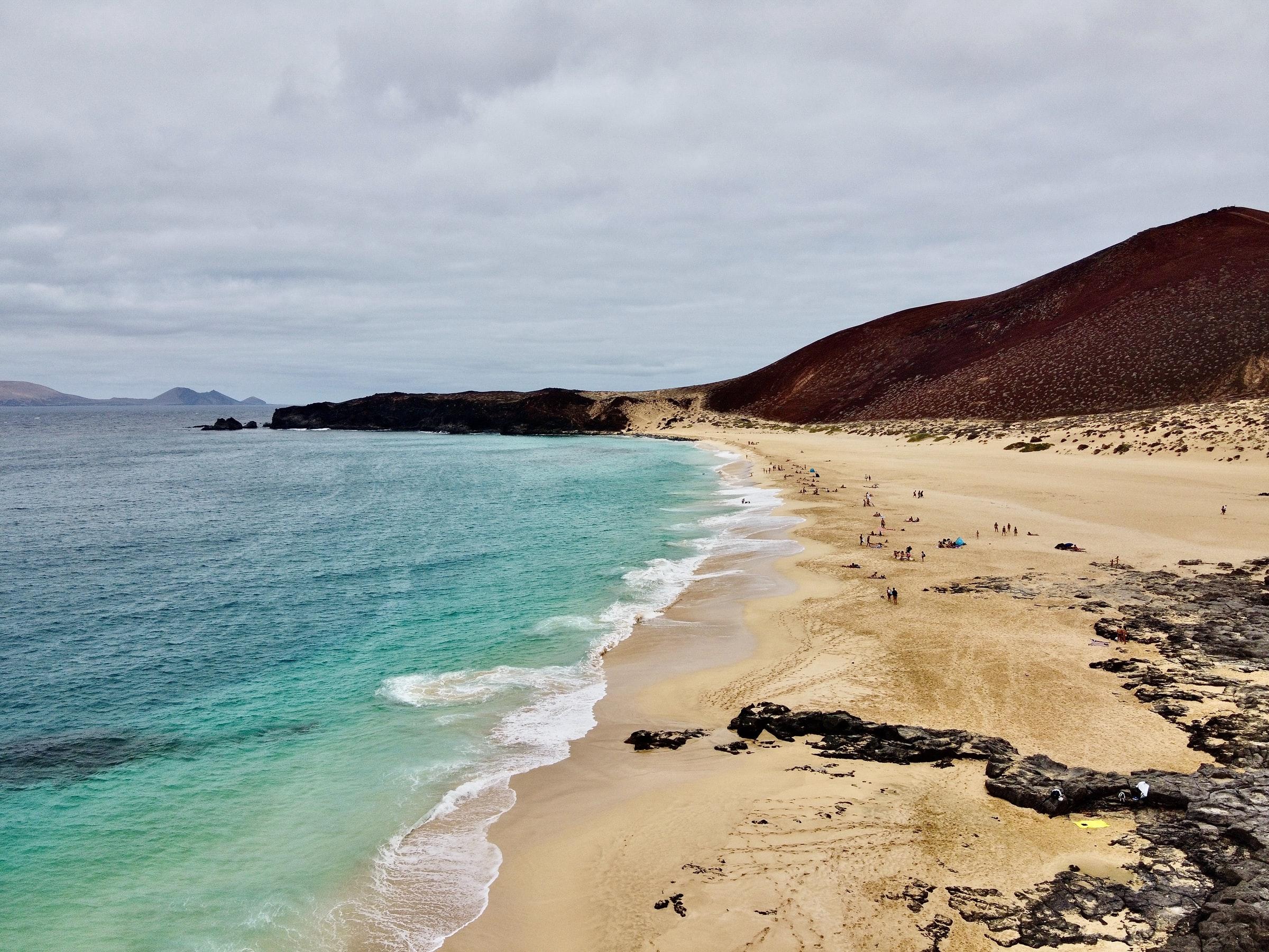 La Graciosa Insel Strand
