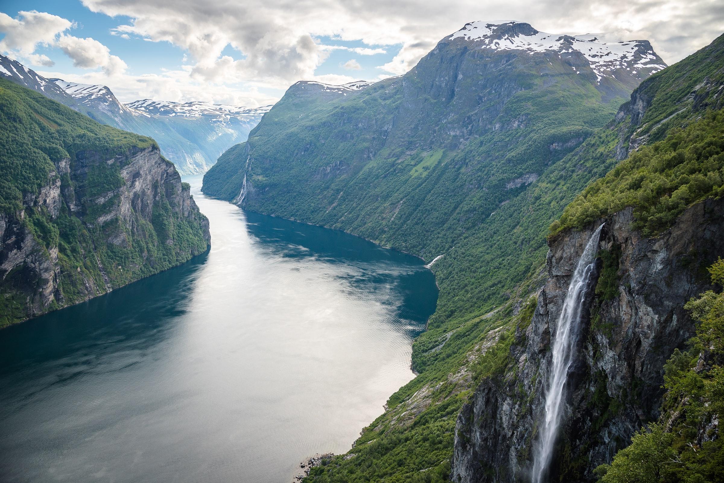 Norwegen Rundreise Geirangerfjord