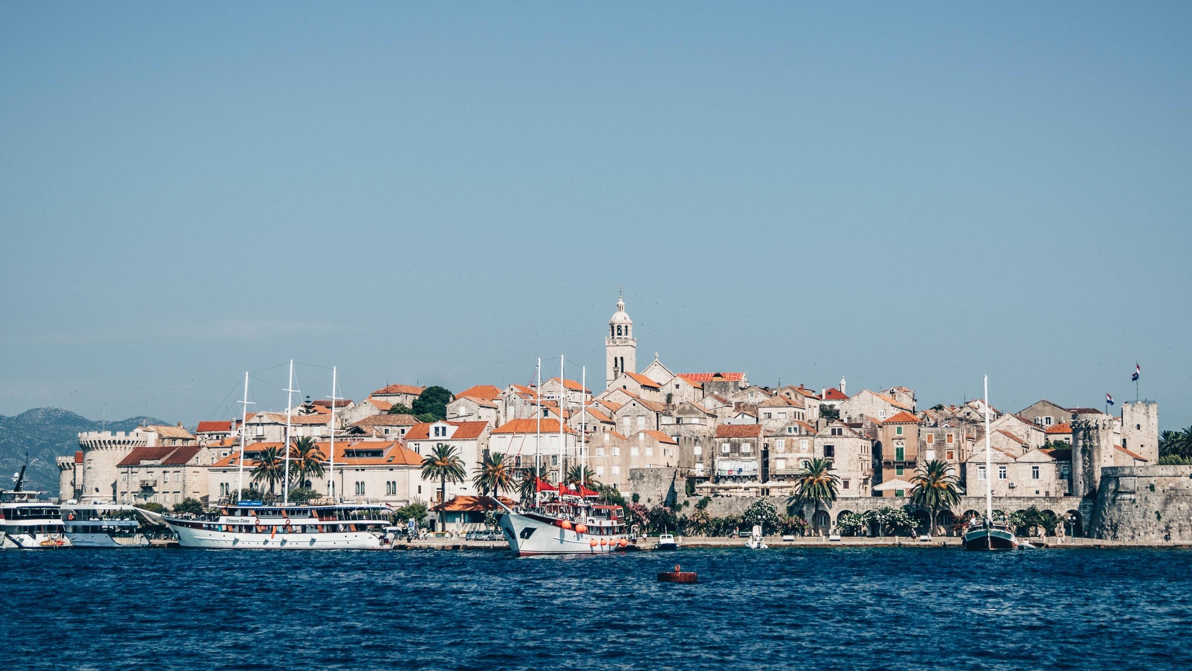 Sanstrand Kroatien Korcula