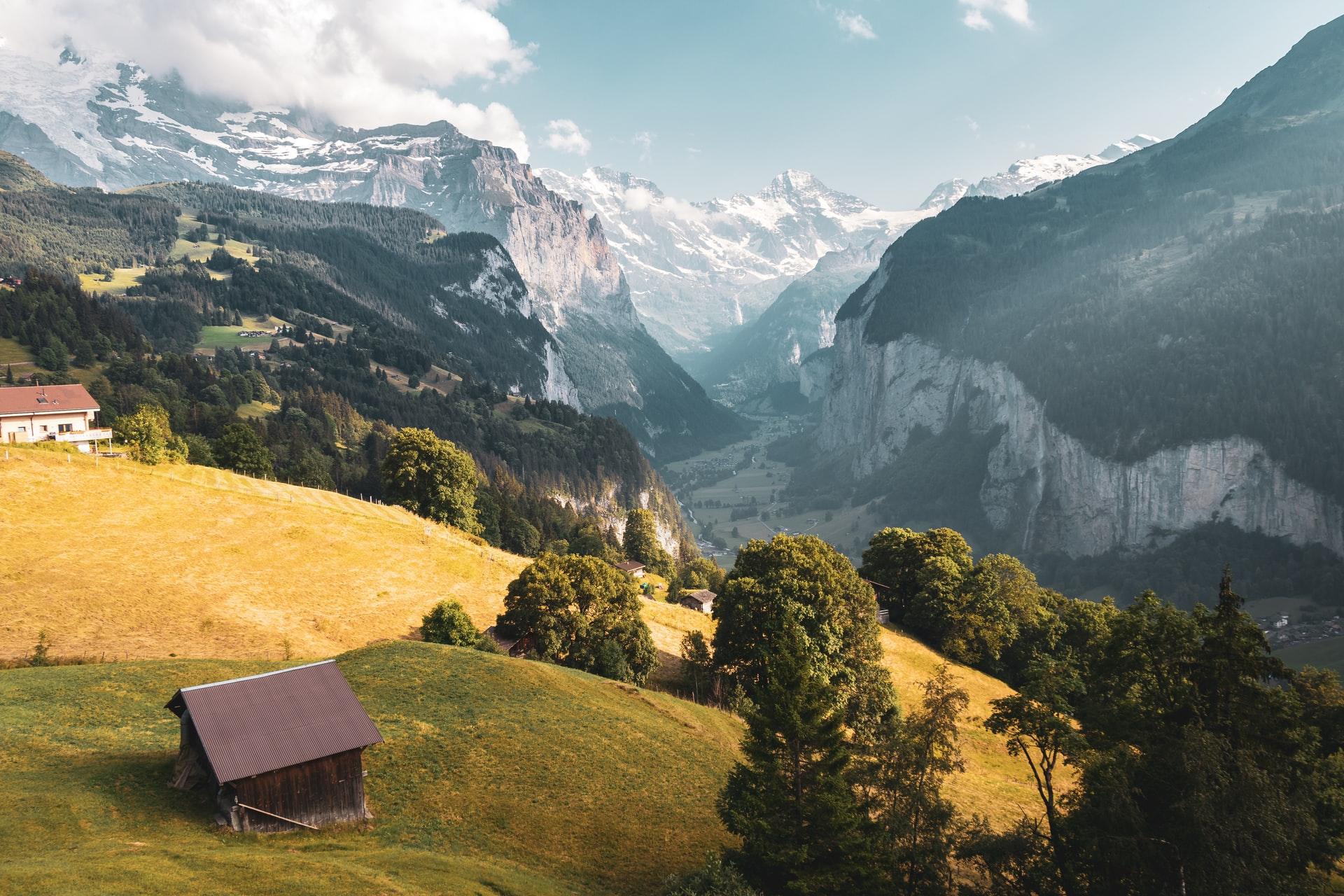 Schweiz Lauterbrunnen1