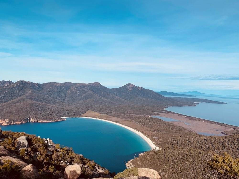 Tasmanien Bucht