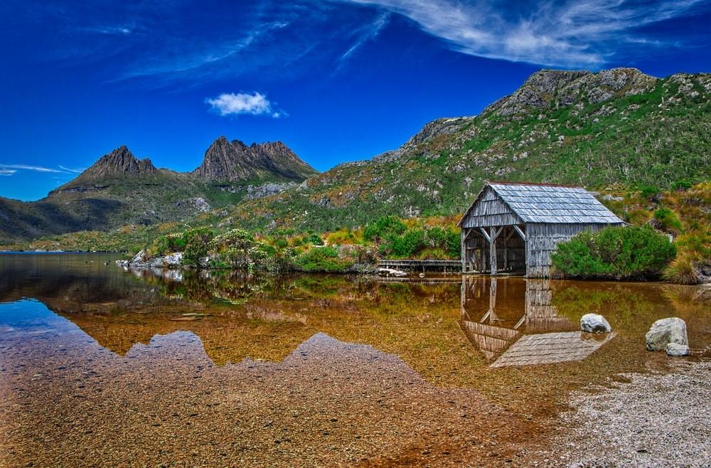 Tasmanien Cradle Mountain Lake