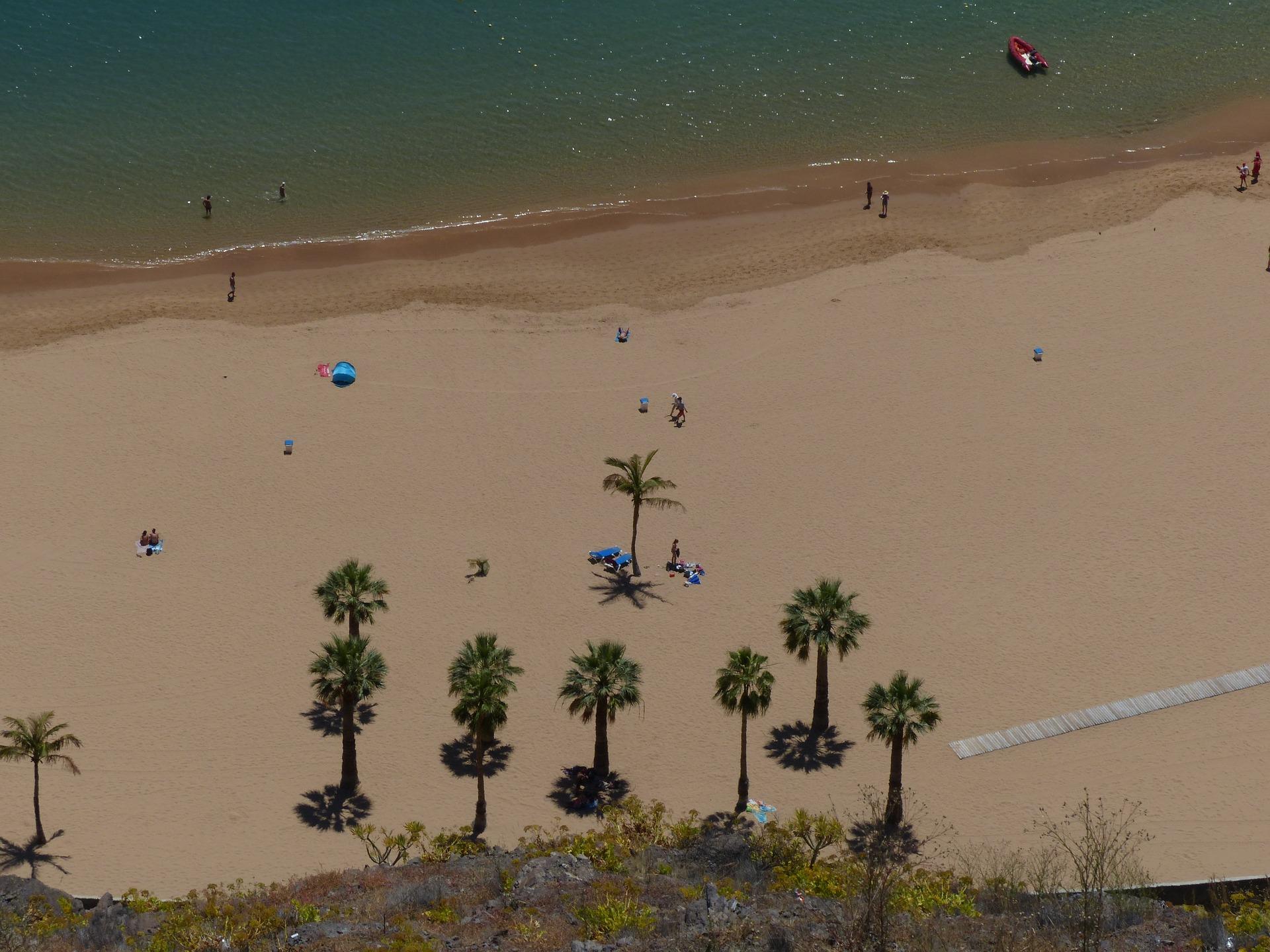 Teneriffa Strände - Strand, Palmen, Meer