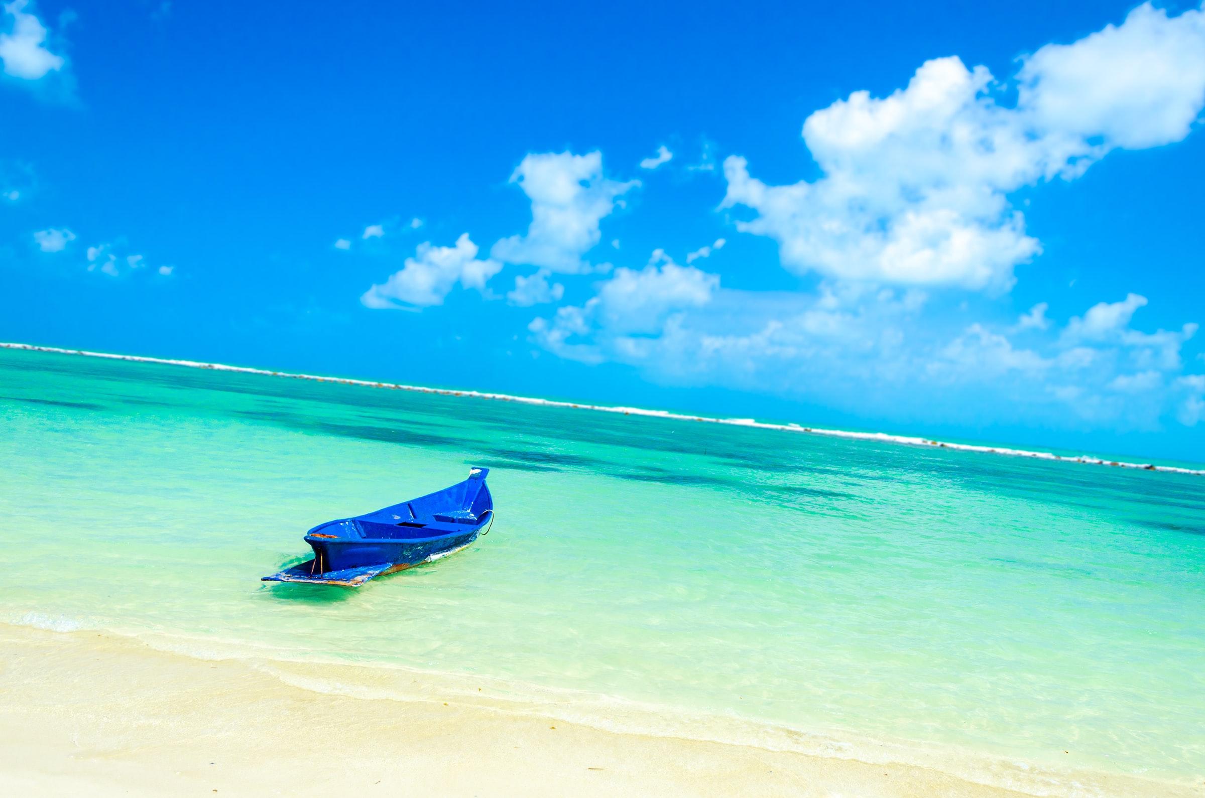 Thailand Rundreise Koh Samui Strand Meer Boot