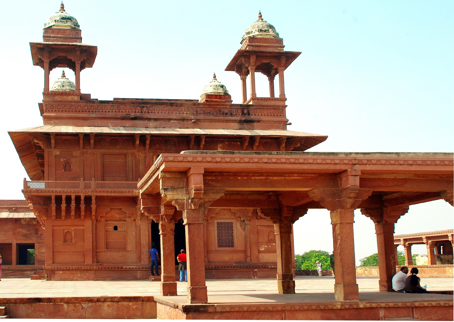 Agra Indien - Denkmal