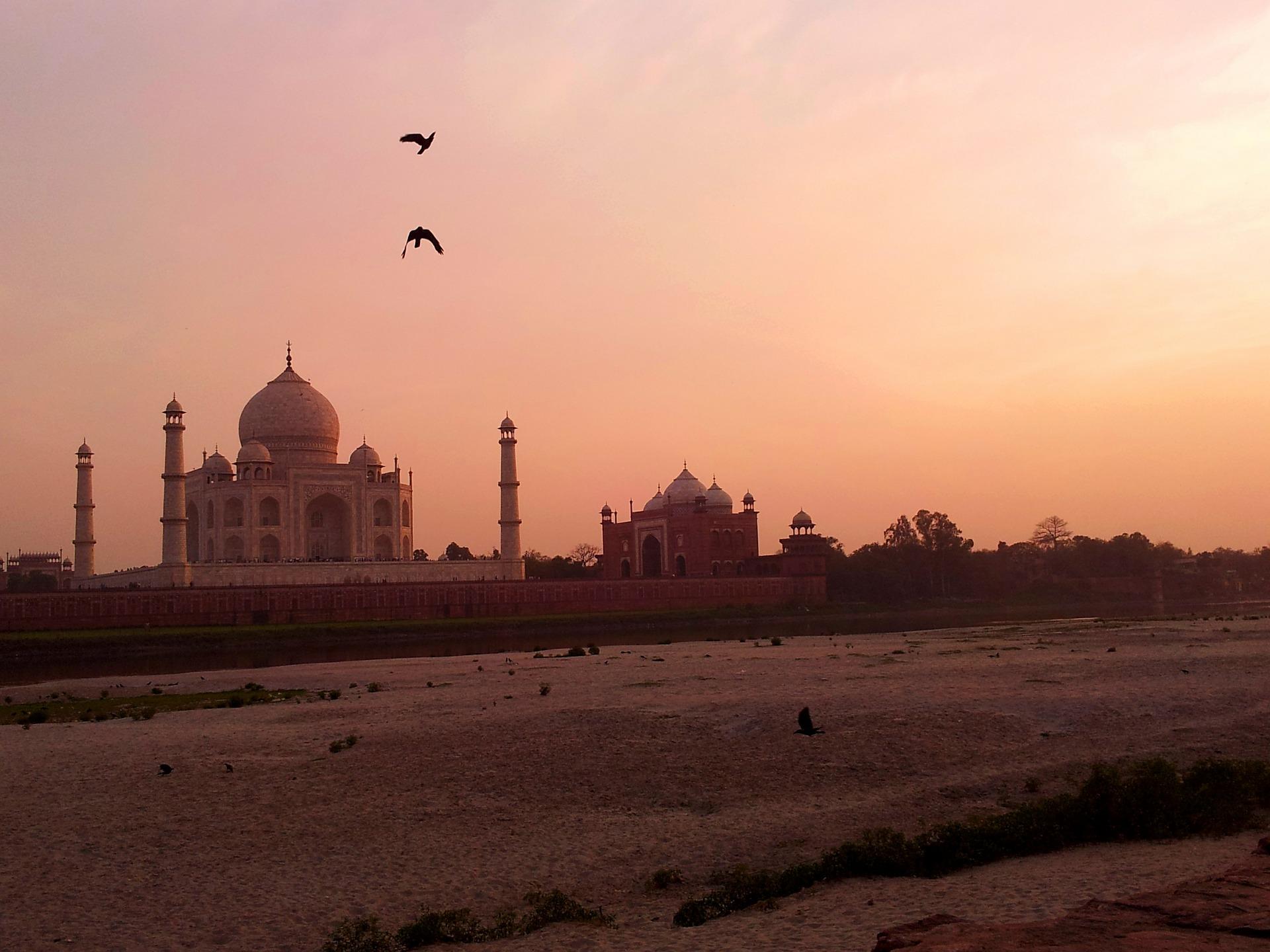 Agra Indien - Taj Mahal