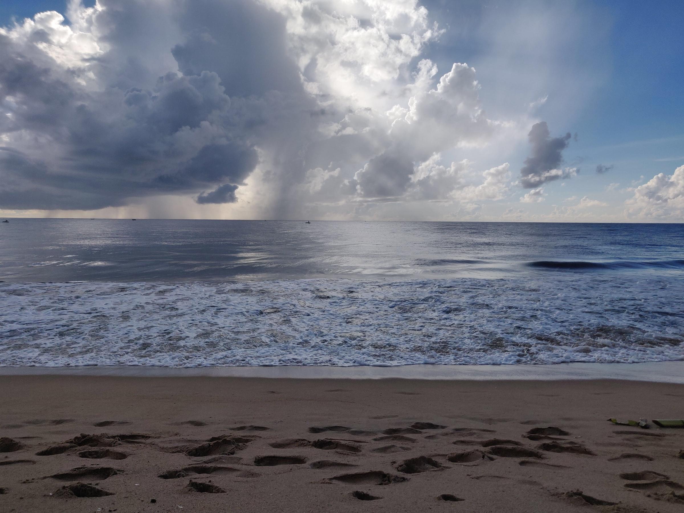 Auroville Indien - Strand und Meer
