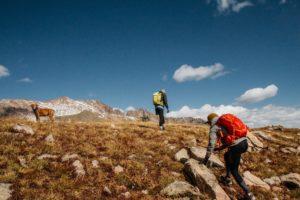 Bariloche - Wandernde Personen