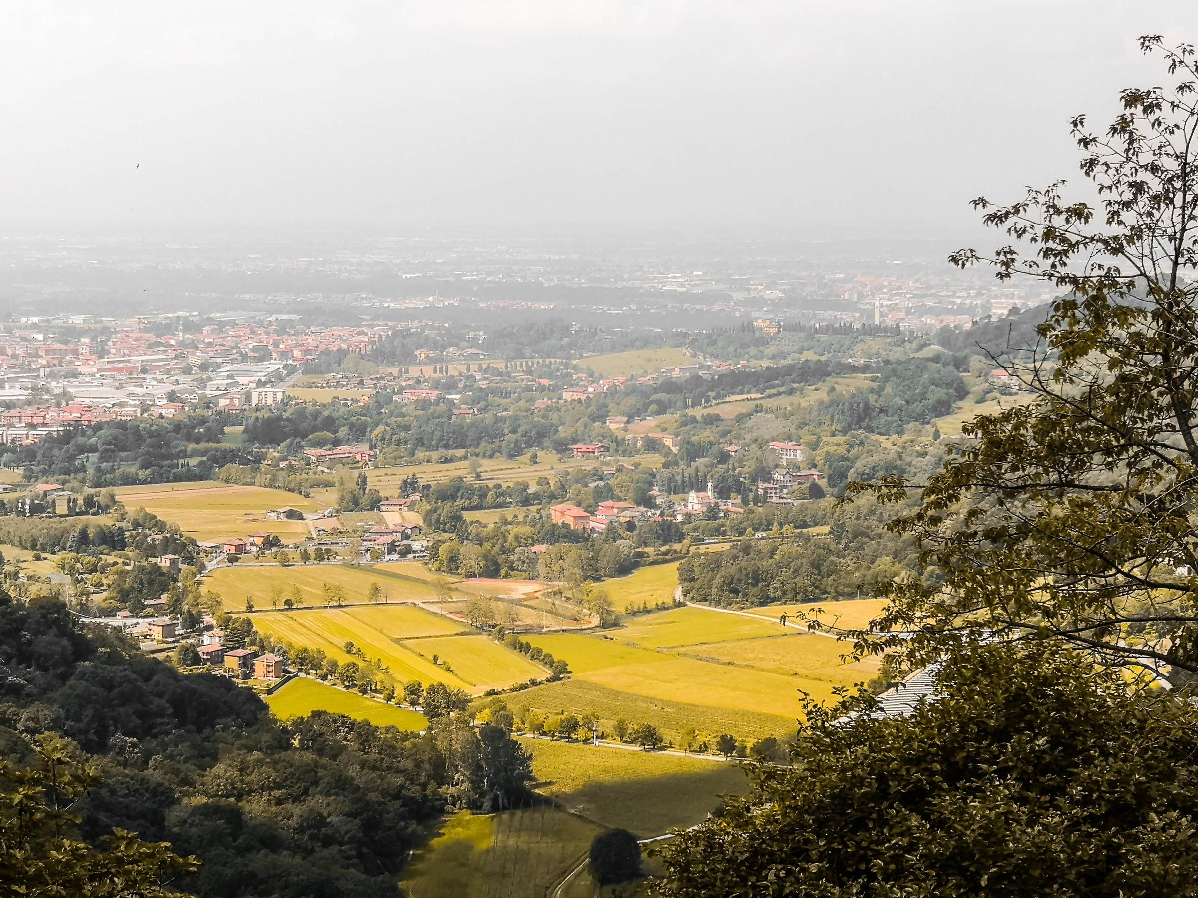 Bergamo - Landschaft