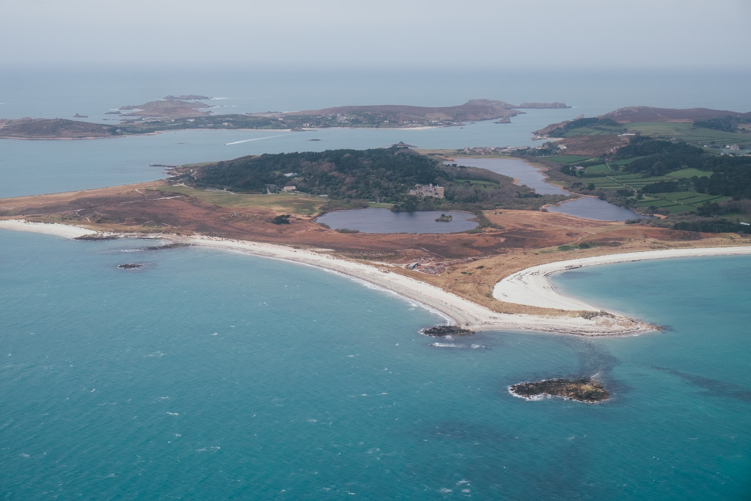 England Scilly Inseln - Insel