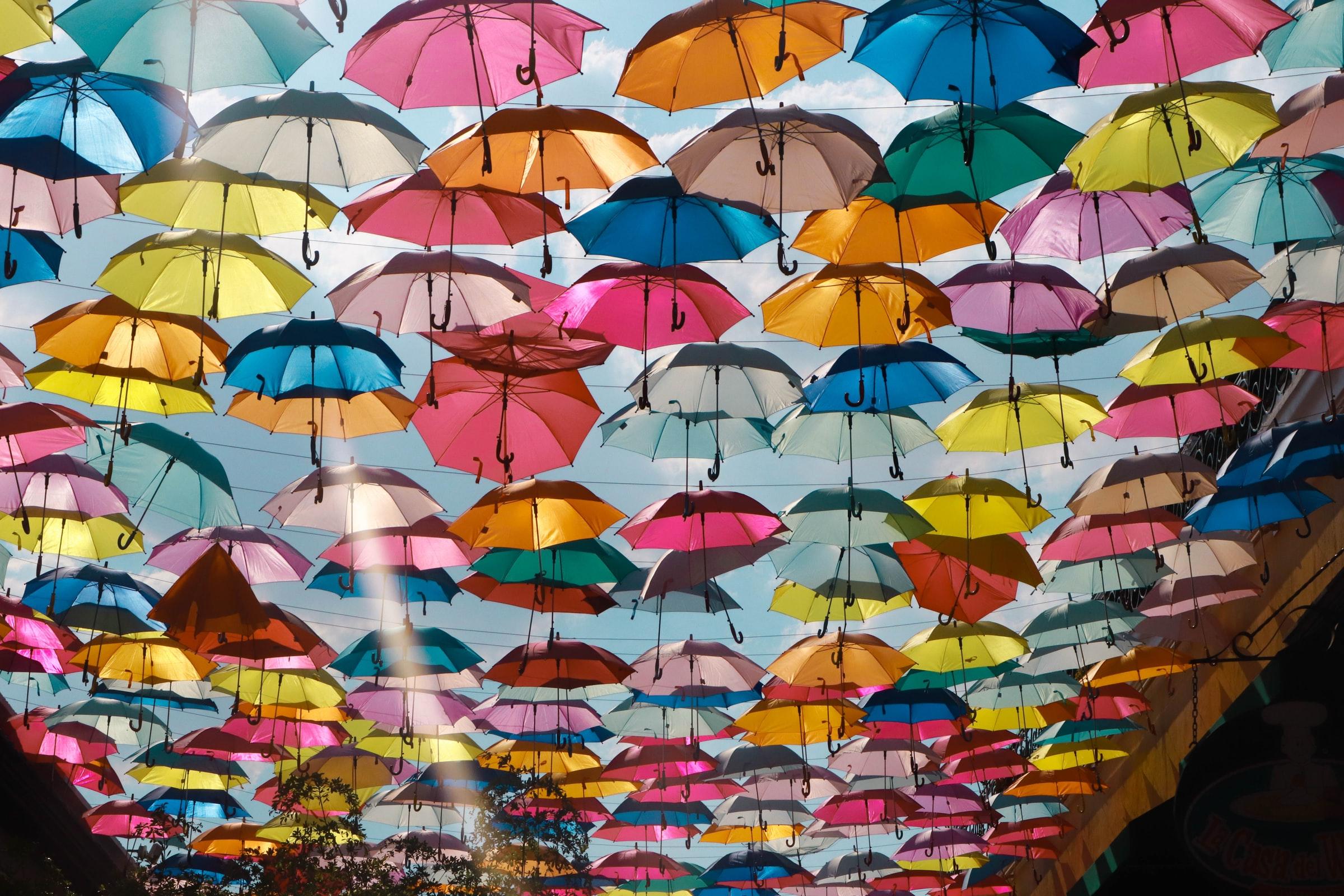 Guadalajara - Regenschirme