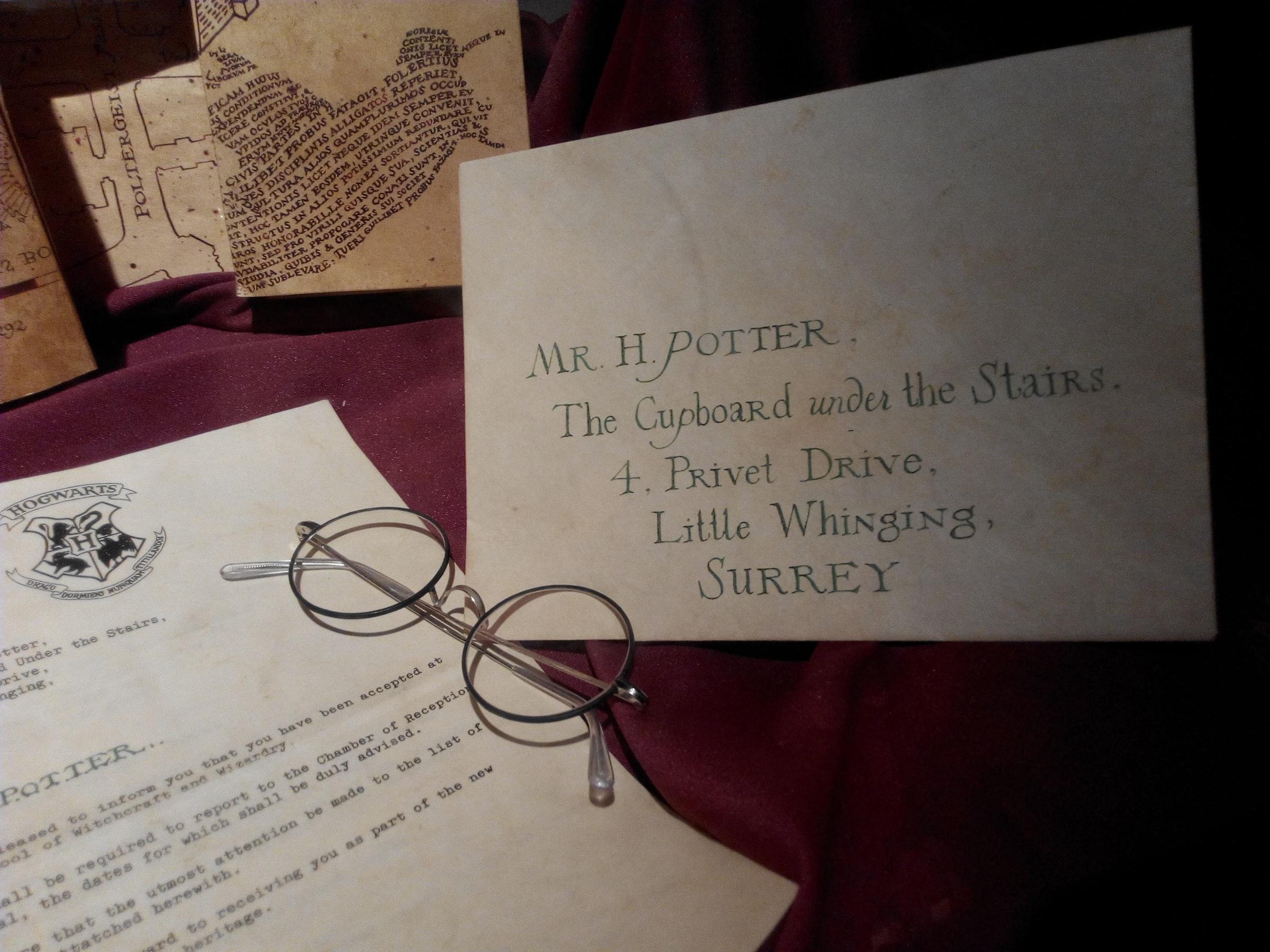 Harry Potter Sehenswürdigkeiten - Briefe