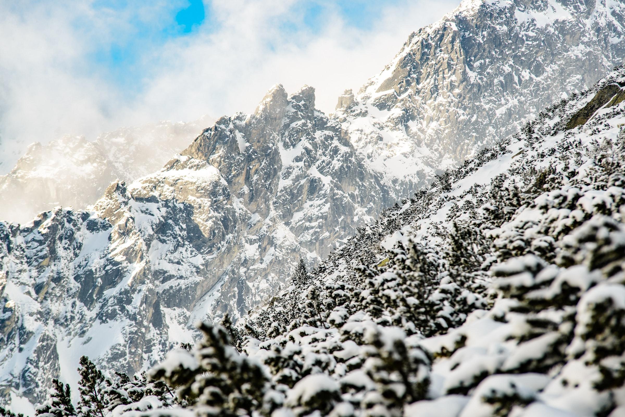 Hohe Tatra Slowakei - Berge