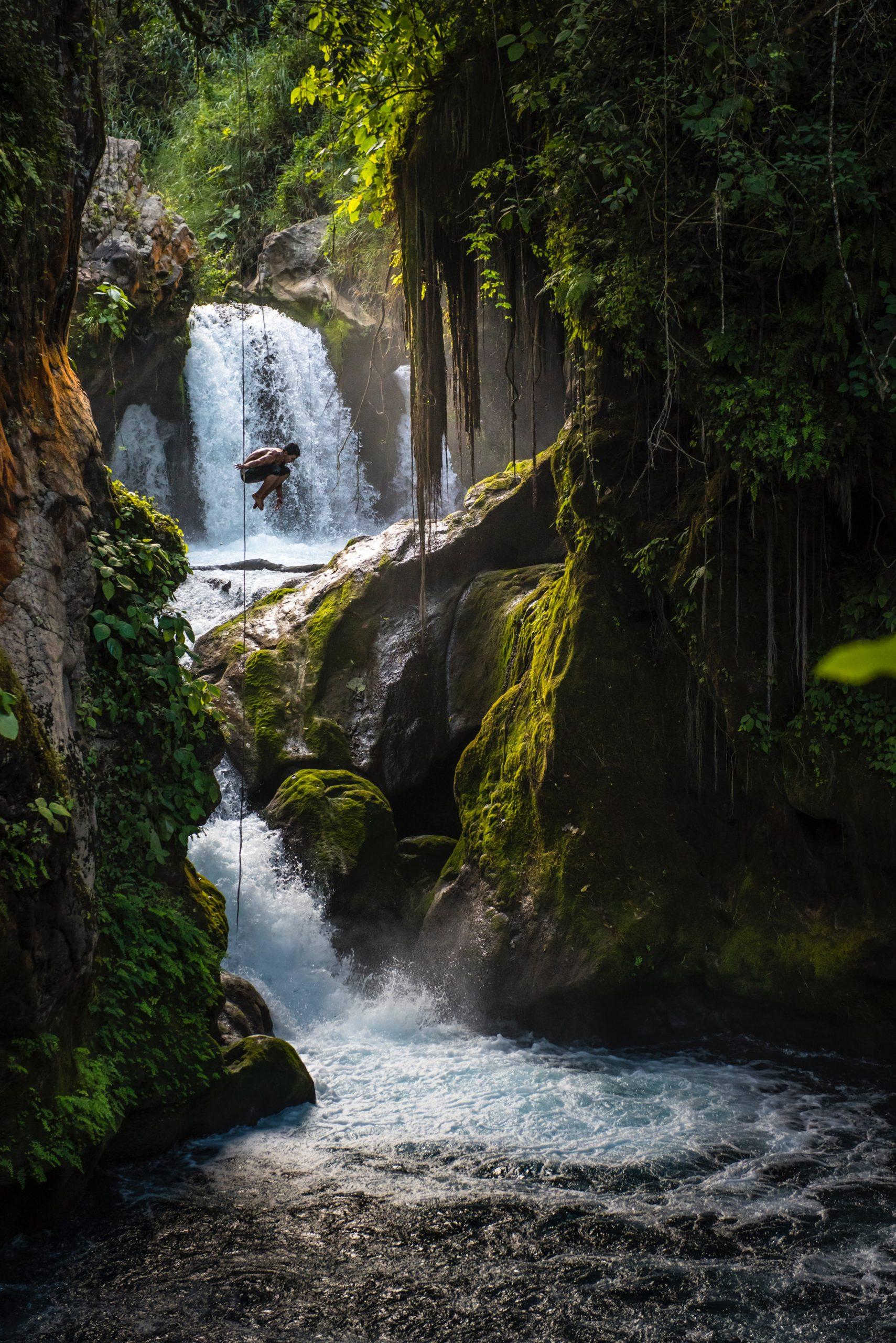 Huasteca Mexiko - Wasserfall