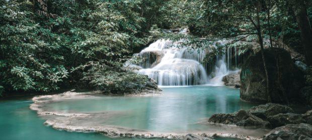Huasteca Mexiko - Wasserfall und Becken