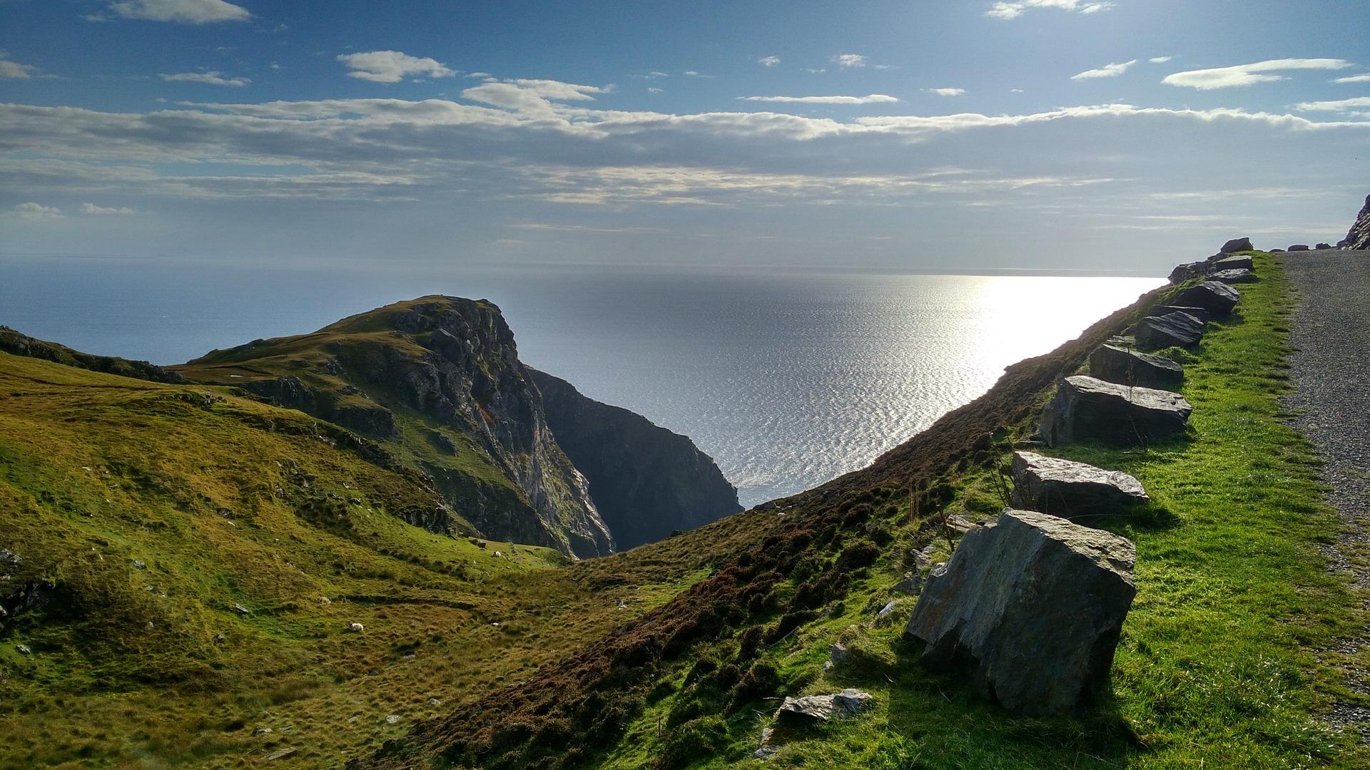 Irland Donegal - Landschaft und Meer