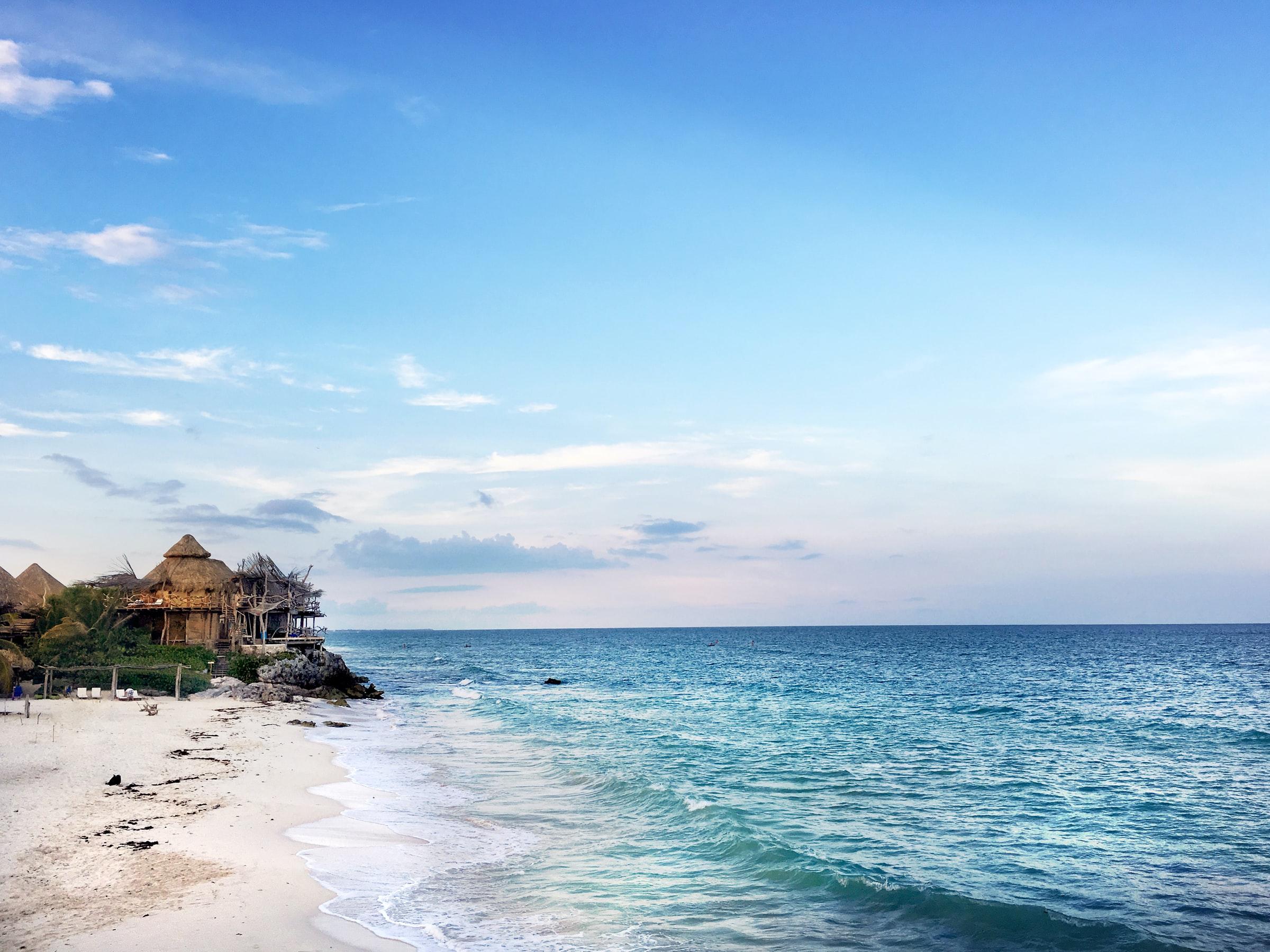 Karibikküste - Strand und Meer