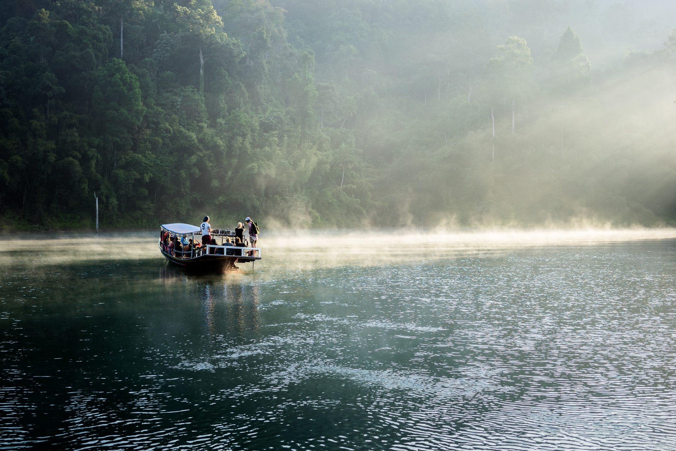 Khao Sok Nationalpark Wasser und Wald