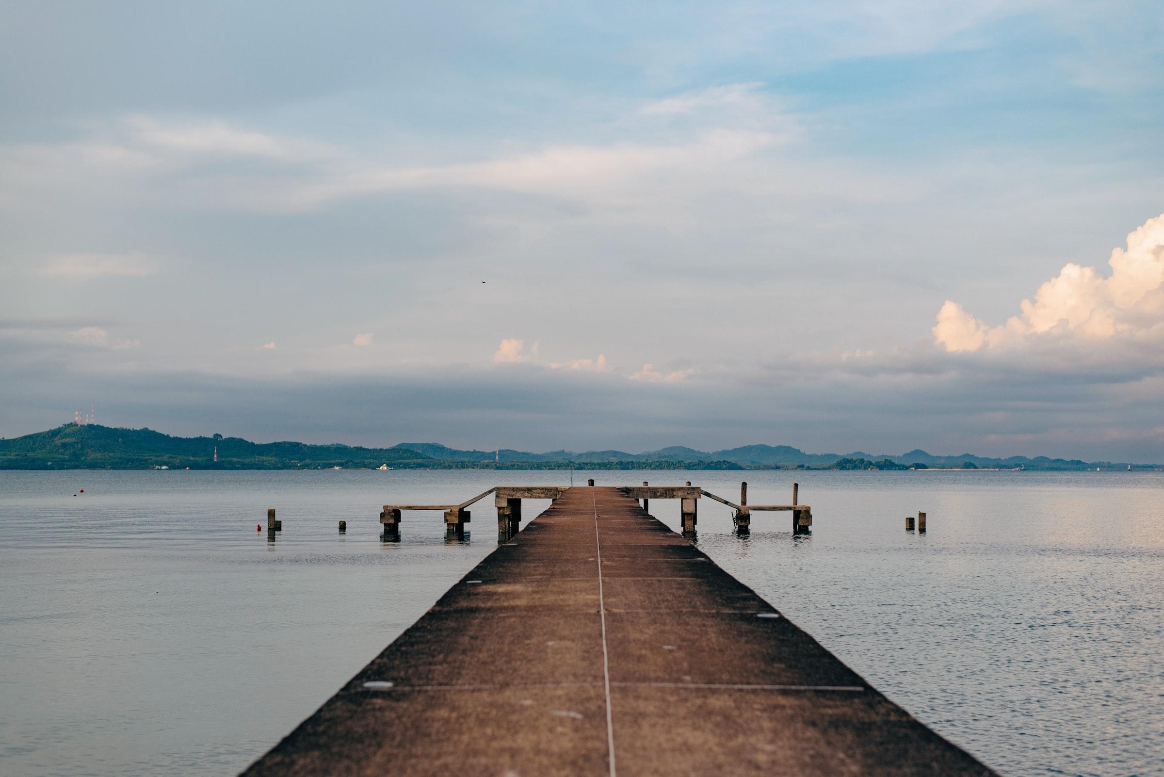 Koh Chang Thailand - Steg und Wasser